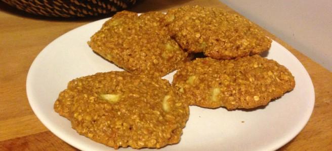 Hafer Apfel Kekse