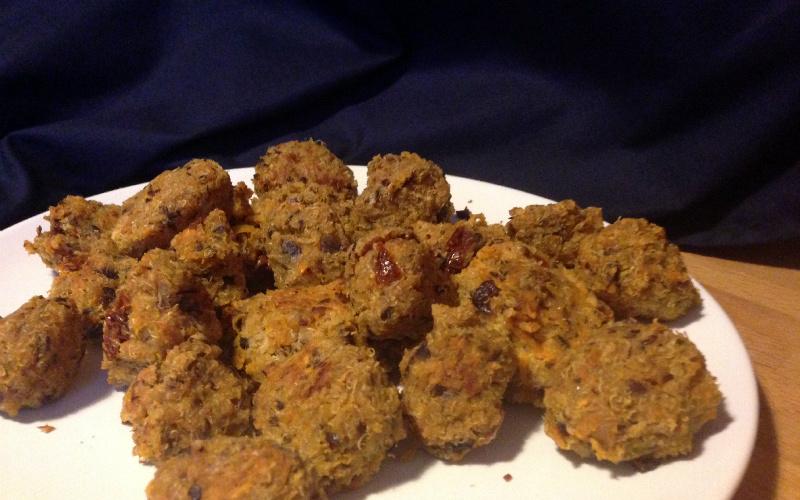 Vegan Rezept Quinoa Bällchen