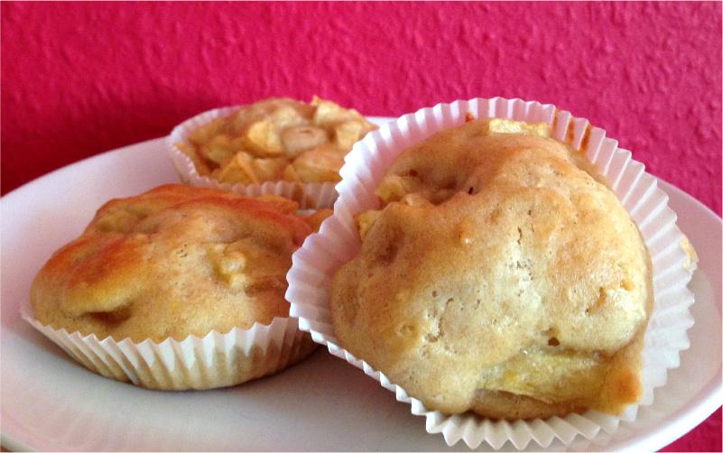 Vegane Apfel-Zimt Muffins Rezept