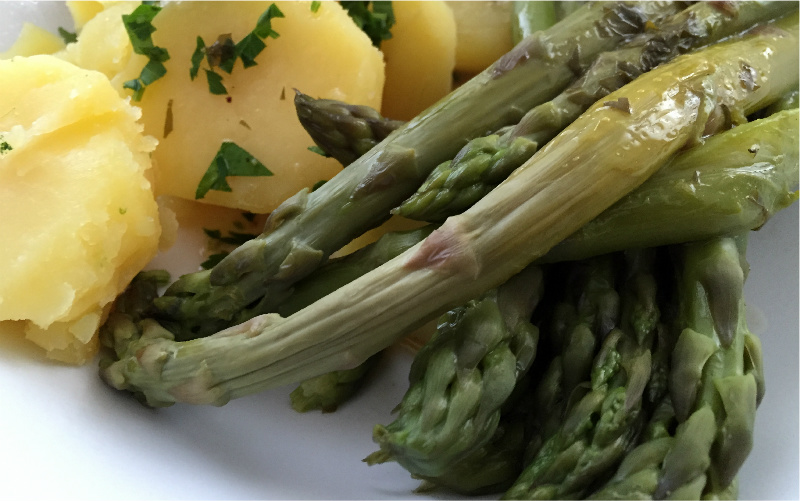 Spargel Beurre Blanc