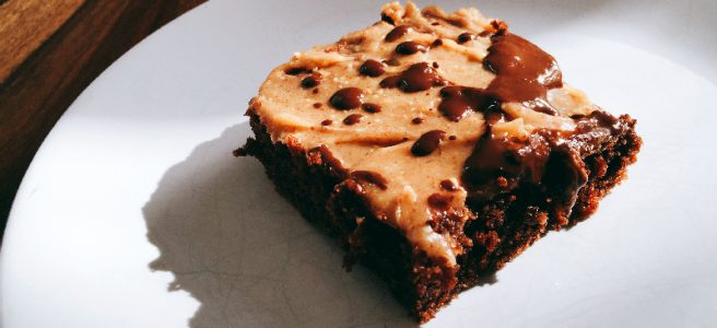 Fudgy Schoko-Brownies