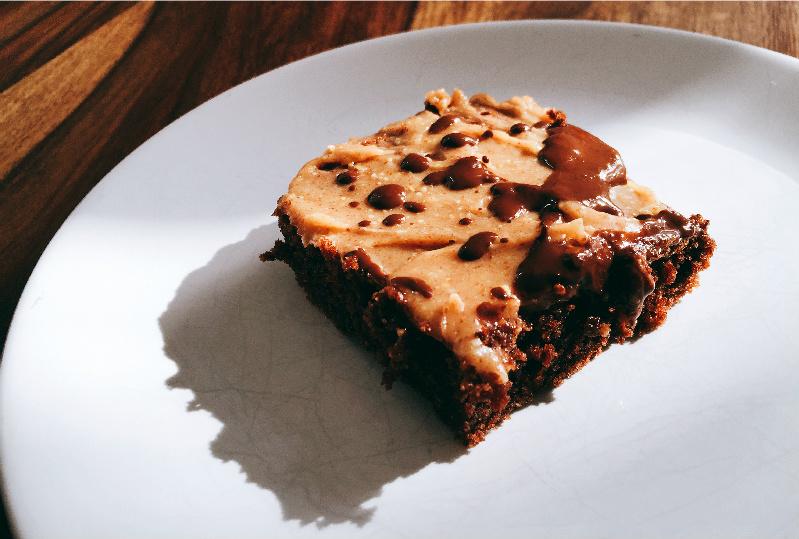 Fudgy Schoko-Brownies