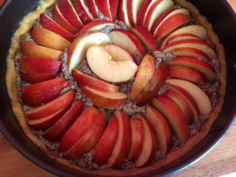 Mohn-Apfelkuchen
