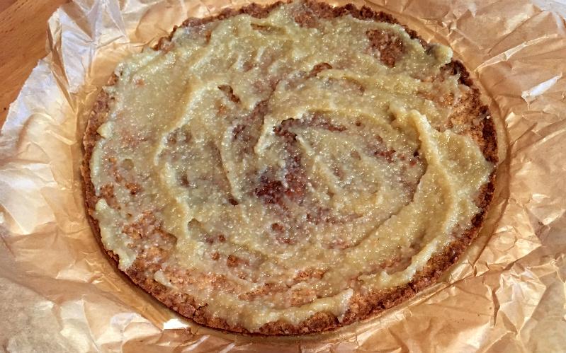 Schoko-Vanille-Biskuit-Torte