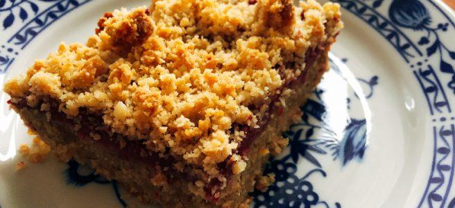 Himbeer-Chia Streuselkuchen