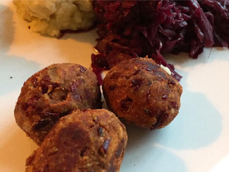 Vegane Meat Balls alias Bean Balls