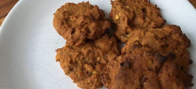 Möhren-Bananen-Roggen-Cookies (zuckerfreie Kekse)