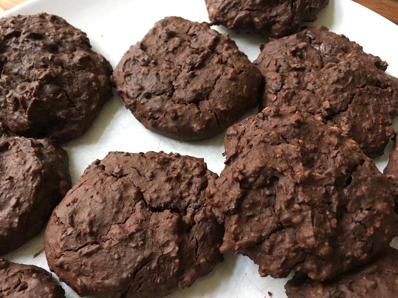 Schoko-Cookies aus Kidneybohnen