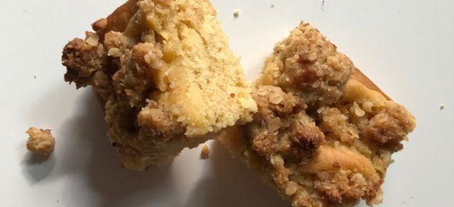 Veganer Apfel-Streuselkuchen