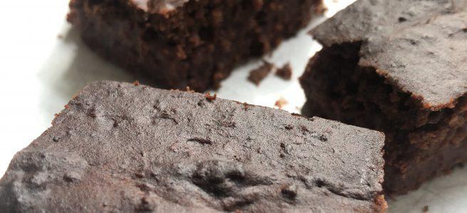 Kidneybohnen-Brownies